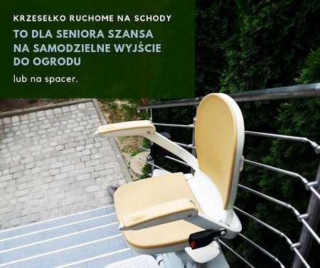 Krzesełko ruchome na schody