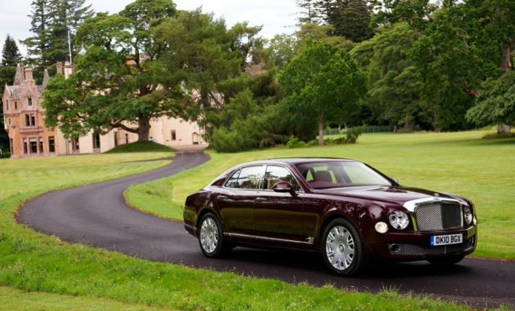 Expensive Bentley Mulsanne