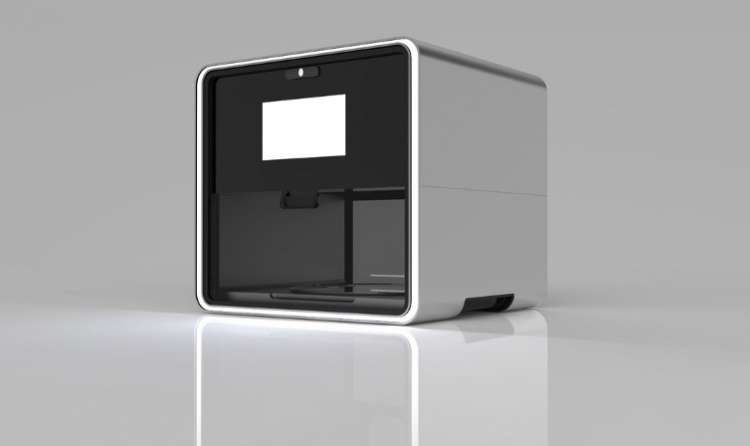 Luxury food printer in 3D
