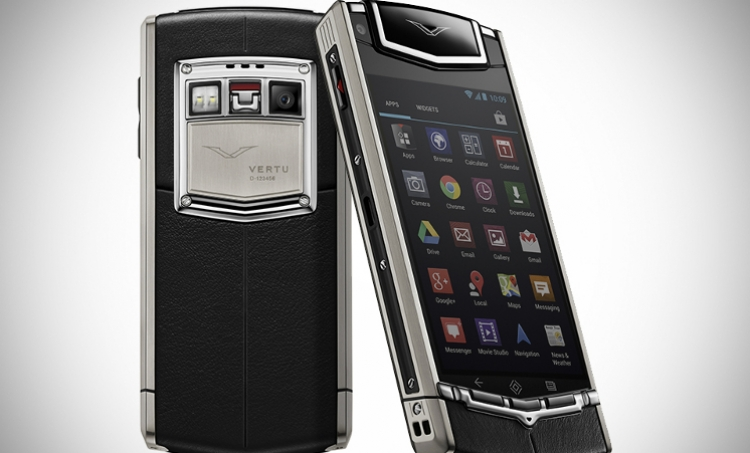 Luxury mobile phones with exquisite materials