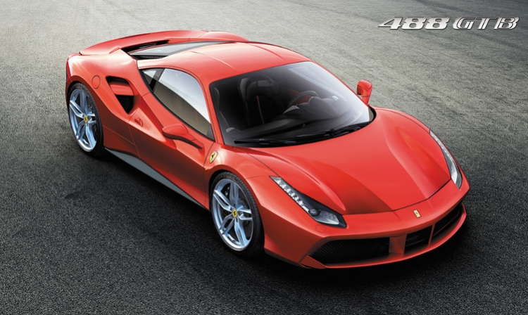 Ferrari 488 GTB: extreme power for extreme driving thrills